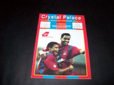 Crystal Palace v Liverpool, 1990/91